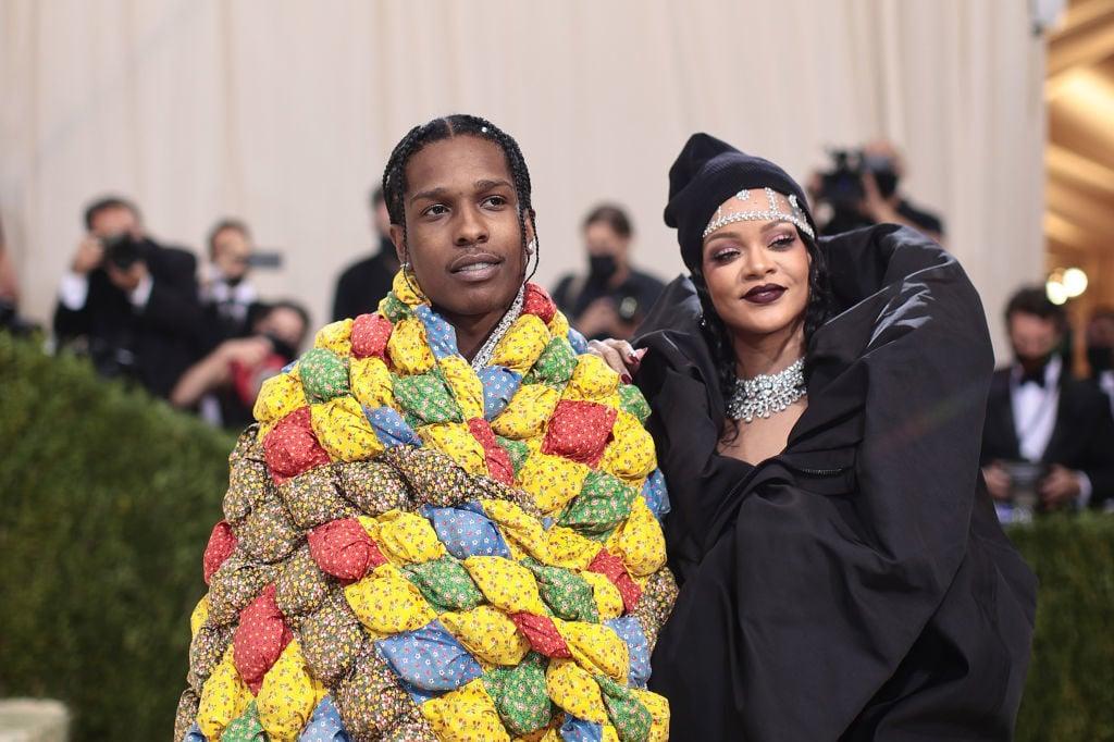 A$AP Rocky en Rihanna, Getty