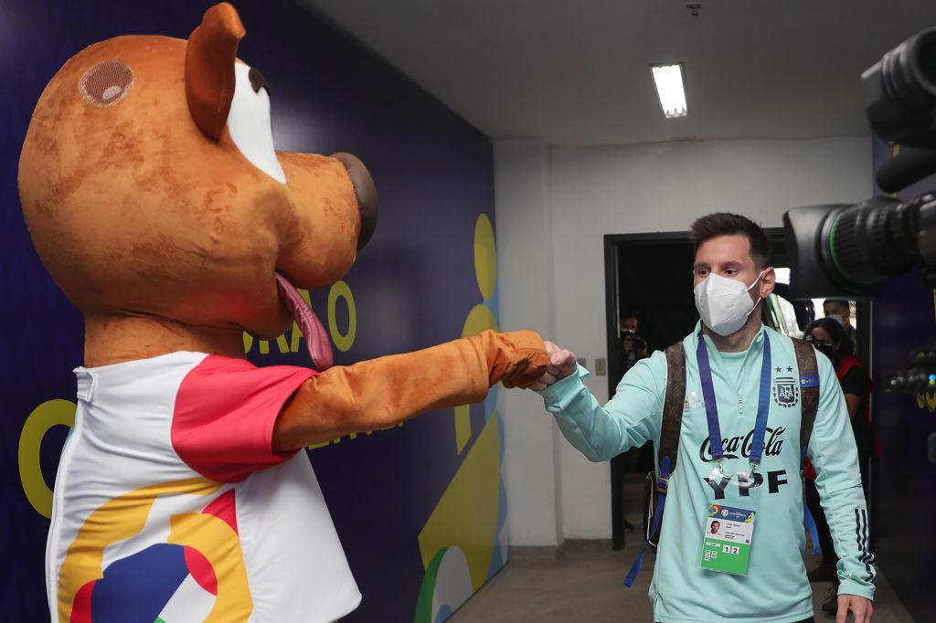 Malgré les inquiétudes sur l'organisation, les Messi, Neymar, Suarez, Cavani sont présents au Brésil., iStock