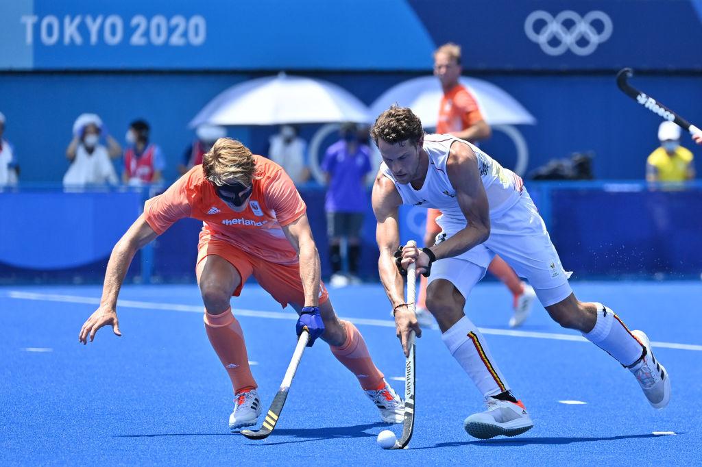 La blessure de Nicolas De Kerpel (cheville gauche) est la seule mauvaise nouvelle des deux premiers matches des Red Lions dans le tournoi olympique., iStock
