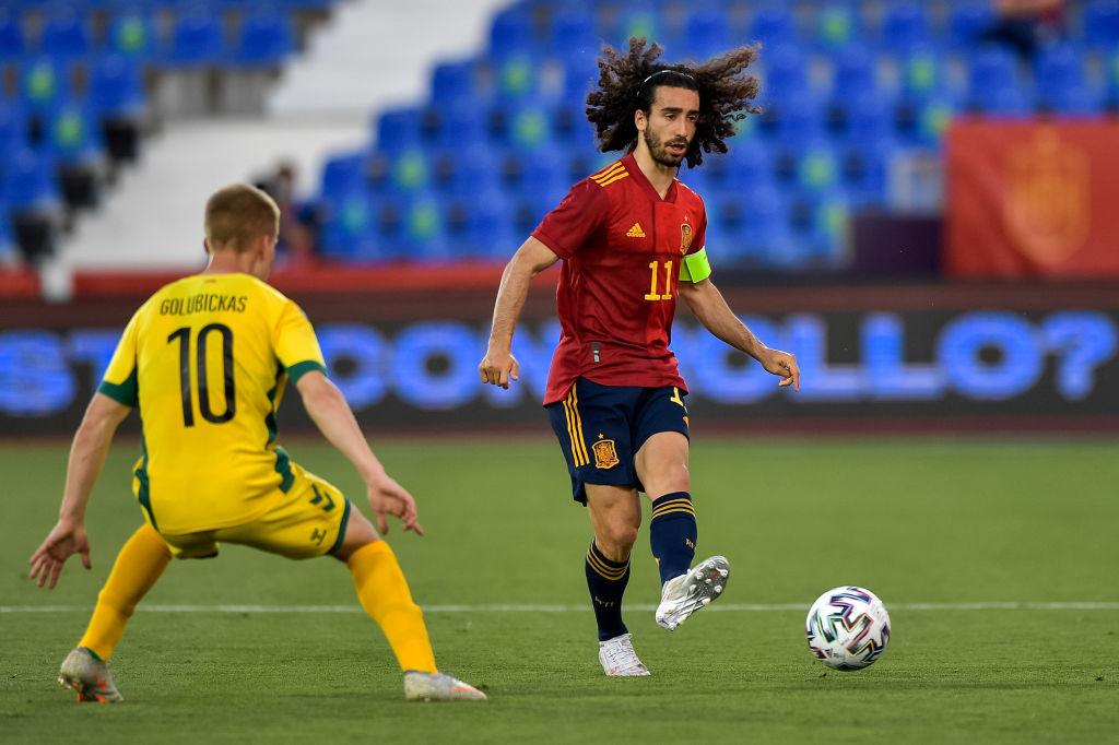 Capitaine des espoirs, Marc Cucurella a fait ses débuts chez les grands puisque ce sont les U21 qui ont remplacé l'équipe première lors de l'amical contre la Lituanie., iStock