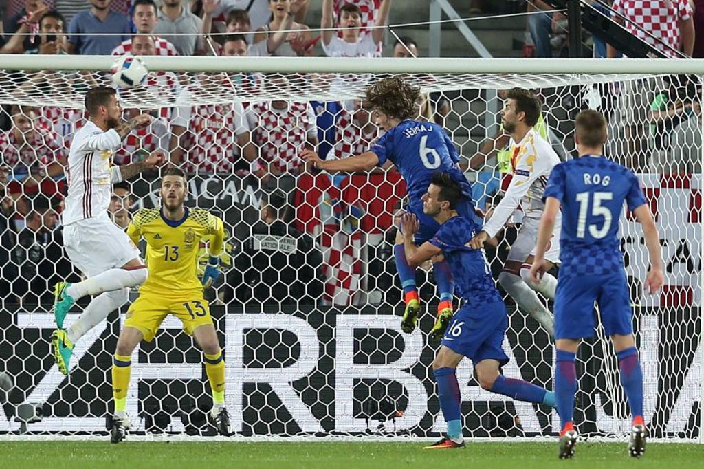 La Croatie et l'Espagne, sorties victorieuses du groupe de la mort, ne verront pas les quarts., iStock