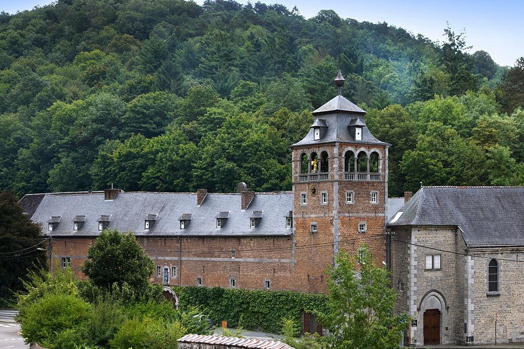 De abdij van Leffe in Dinant, Getty Images
