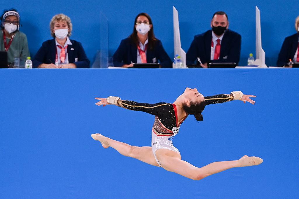 Nina Derwael a marqué les esprits avec un très beau score aux barres asymétriques., iStock