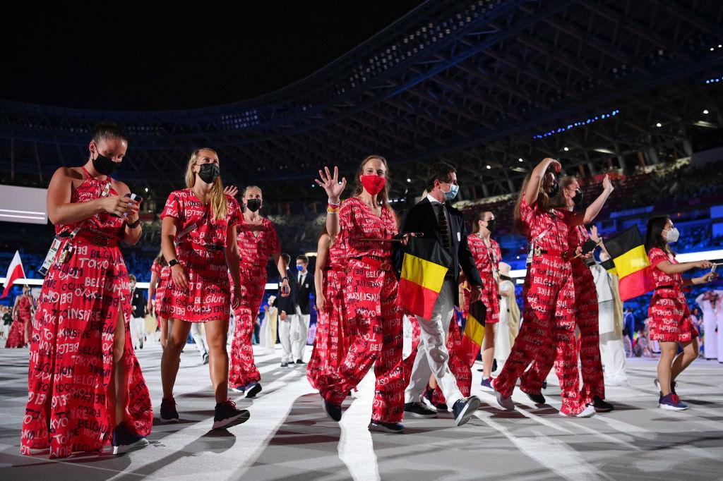 Les dames étaient présentes en masse au sein de la délégation belge qui a défilé lors de la cérémonie d'ouverture des JO de Tokyo., iStock