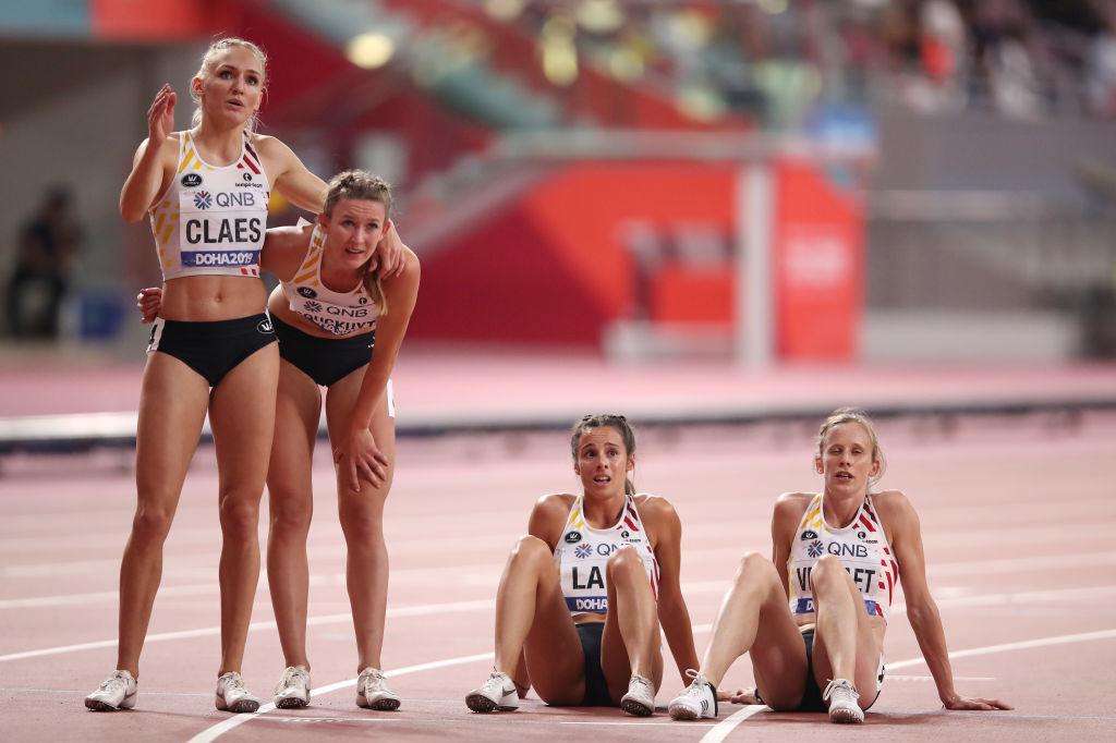 Le relais du 4X400 m féminin ne pourra pas compter sur son fer de lance Cynthia Bolingo, mais heureusement Paulien Couckuyt, la spécialiste du 400 m haies est en grande forme., iStock