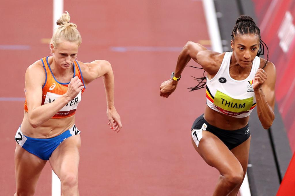 Anouk Vetter n'aura pas mis en péril la médaille d'or de Thiam sur le 800 mètres., iStock