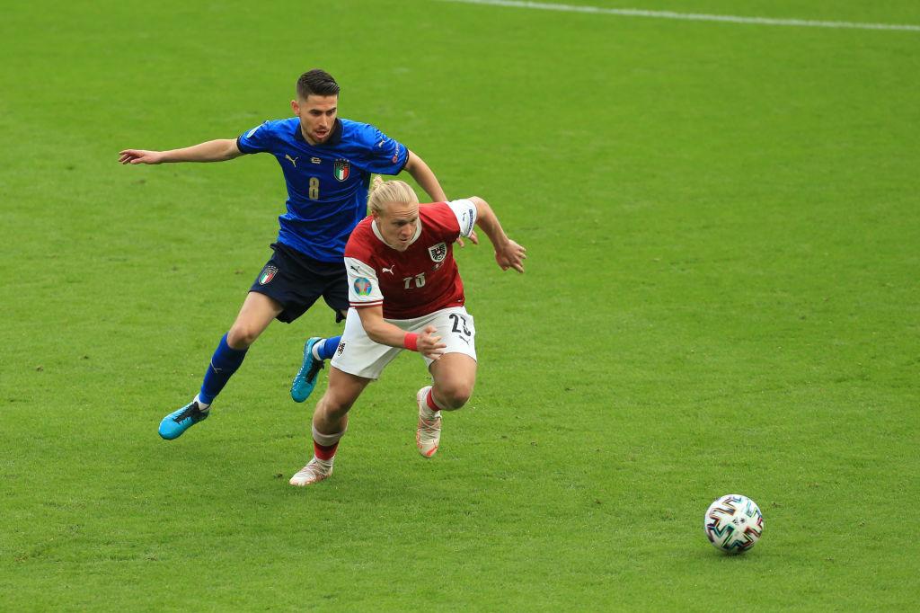 En 1/8e de finale contre l'Autriche, Xaver Schlager a quelque peu gêné la pièce maîtresse de Roberto Mancini., iStock