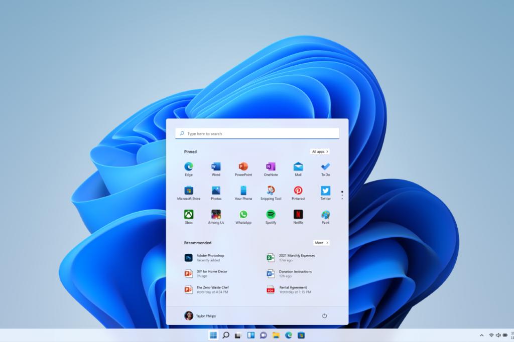 Achter het Windows-logo schuilt voortaan een app-launcher naar je voornaamste toepassingen., Microsoft