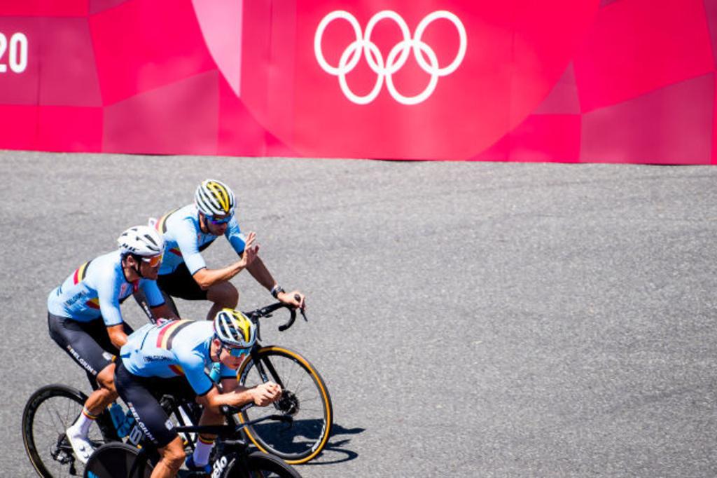 Accompagné du sélectionneur Sven Vanthourenhout, Greg Van Avermaet, sur un vélo classique et Wout Van Aert, sur son vélo de chrono, ont reconnu une partie du parcours., iStock