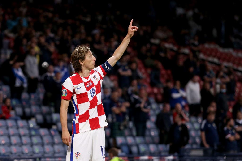 Le capitaine croate, Ballon d'or 2018, a permis au Damier croate de prendre la tête grâce à une frappe extérieure du pied droit imparable, iStock