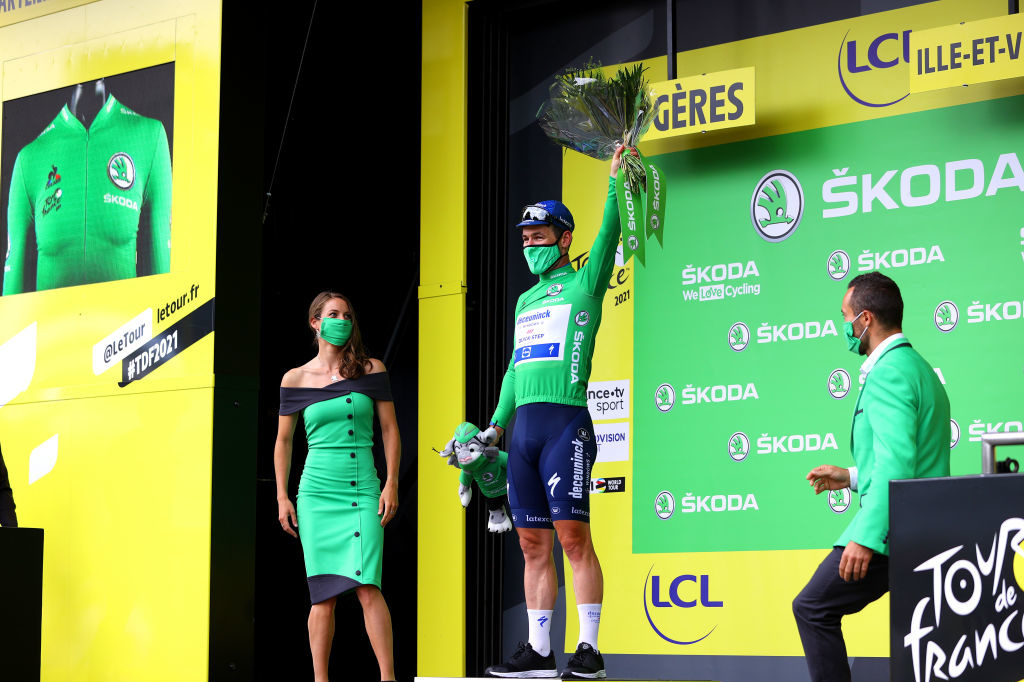 Ce mercredi, Mark Cavendish passera un 25e jour dans le maillot vert., iStock