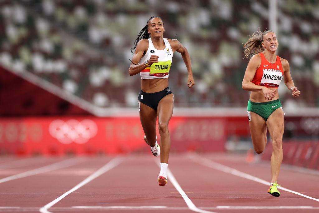 Malgré la disqualification de sa rivale Katerina Johnson-Thompson, la voie de Nafi Thiam vers la médaille d'or ne sera pas un parcours de plaisance., iStock