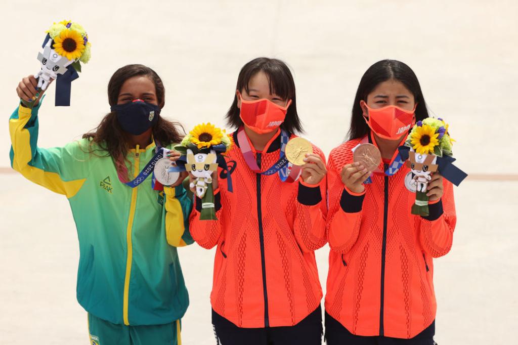 Le podium de l'épreuve de skateboard est le plus jeune de l'histoire des Jeux (14 ans de moyenne d'âge), iStock