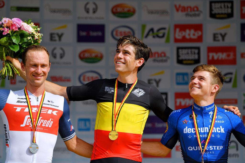 Wout Van Aert et Remco Evenepoel aimeraient bien se retrouver sur le podium samedi, mais peut-être pas dans le même ordre., iStock