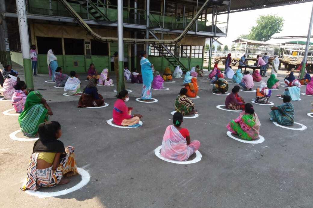 Social distancing tijdens de arbeid, Fairtrade