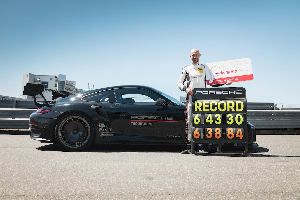 Lars Kern vestigde het nieuwe record, GF