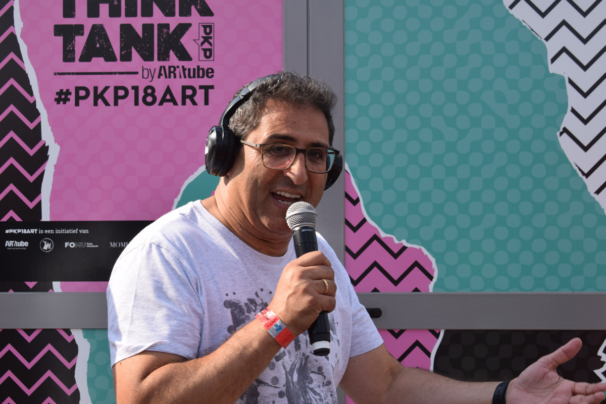 Chokri Mahassine in 2018., Belga