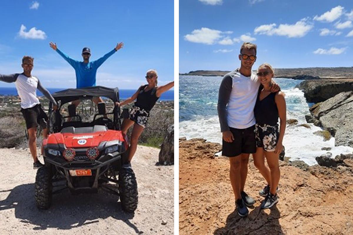 Sien en Roy hadden een fantastische tijd in Aruba, maar keren uit veiligheidsoverwegingen terug naar België, GF