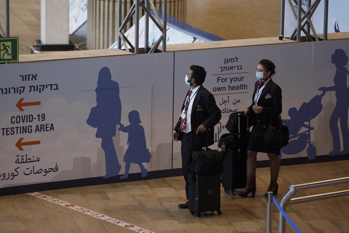 Ben Gurion International Airport in Tel Aviv, Israël, op 22 juni 2021., Getty Images