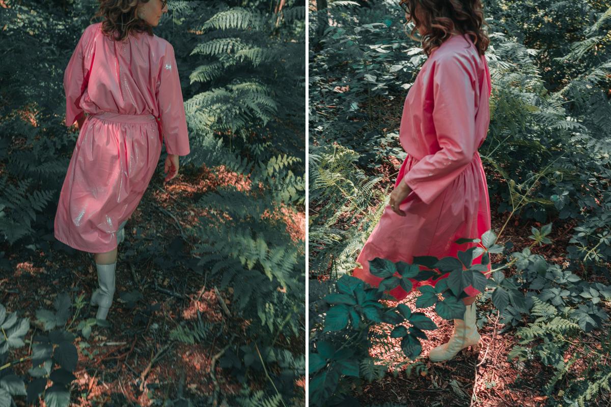 Ruth koestert haar roze outfit van Caroline Bosmans nog steeds jaren na aankoop ervan, Newdays