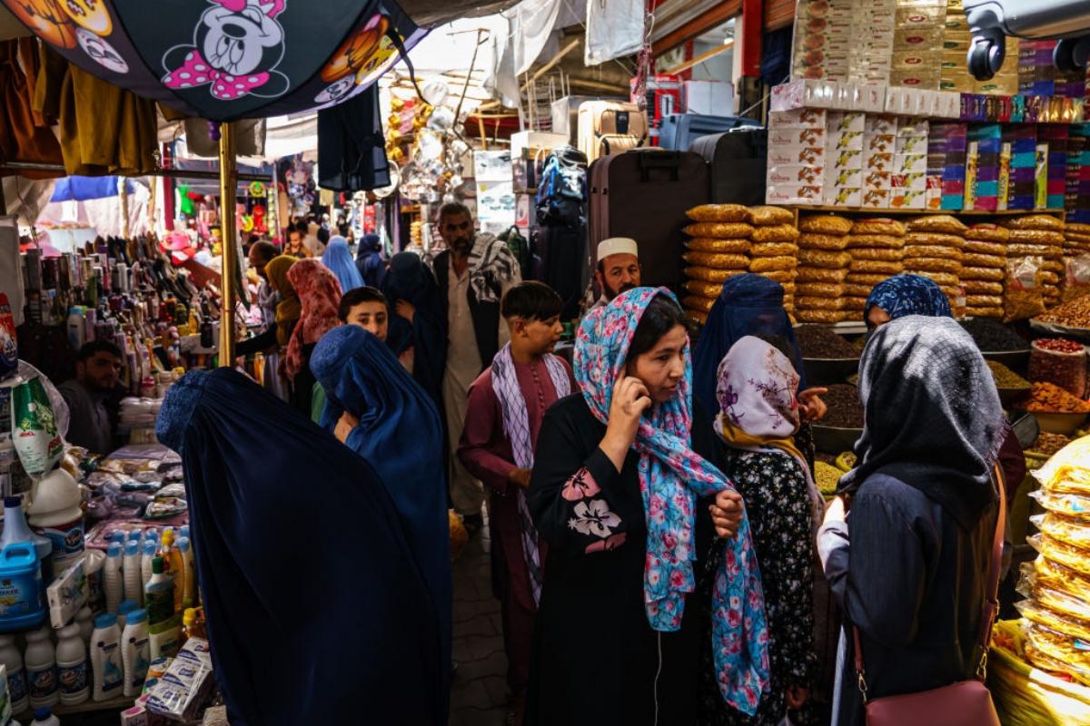 Het vertrek van buitenlanders zou een aderlating kunnen betekenen voor de Afghaanse economie. , Getty