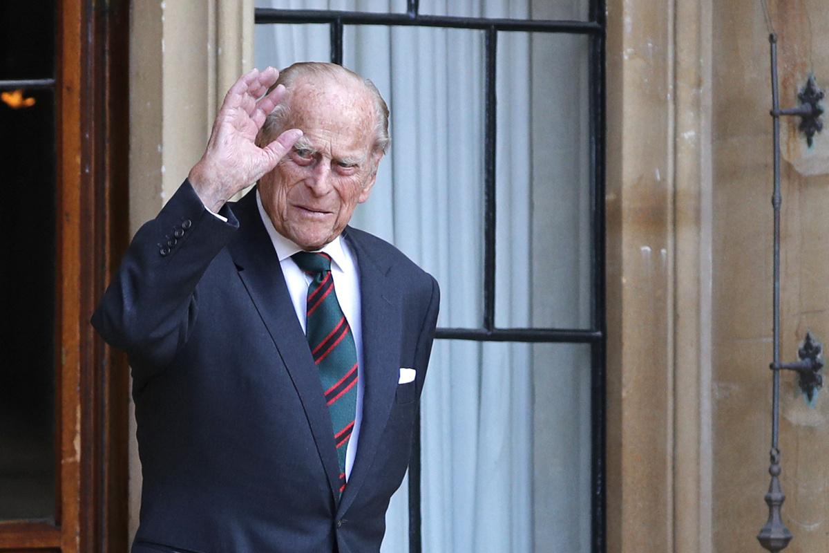 Prins Philip zou in juni 100 geworden zijn., Belga Image
