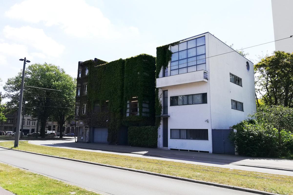 Tentoonstellingswijk Antwerpen: Huis Guiette van Le Corbusier, LP