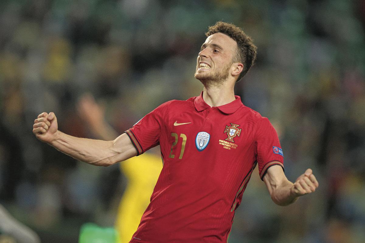 Diogo Jota, een van de nieuwe sterren van Portugal, BELGAIMAGE