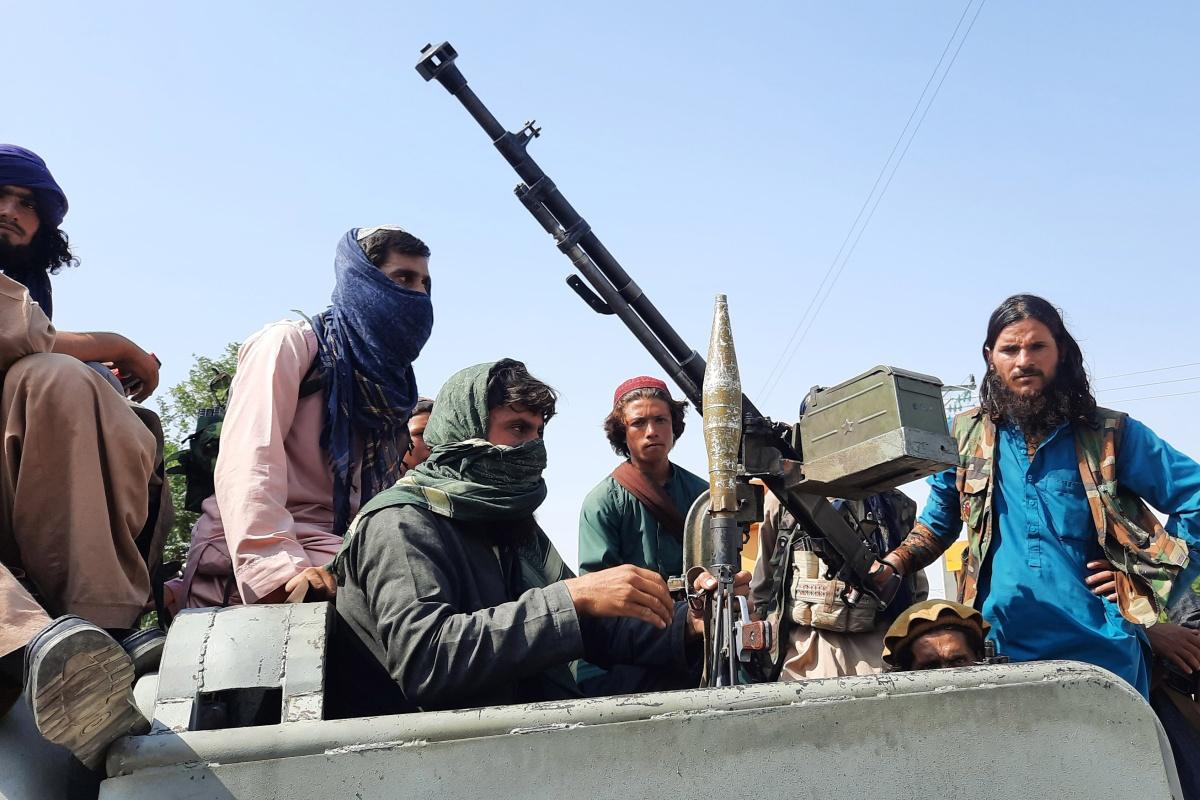 Talibanstrijders in Laghman, 15 augustus 2021, Belga