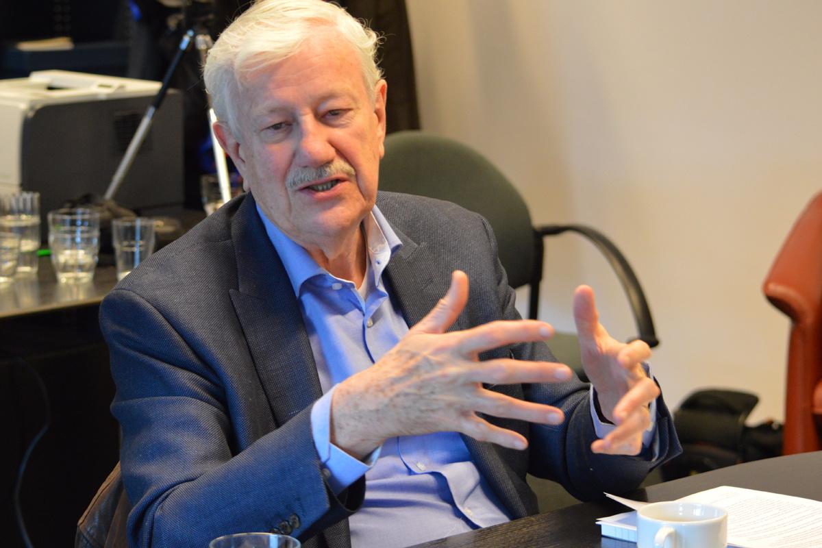 Philippe Moureaux, overleden in 2018., Marlène Mélon