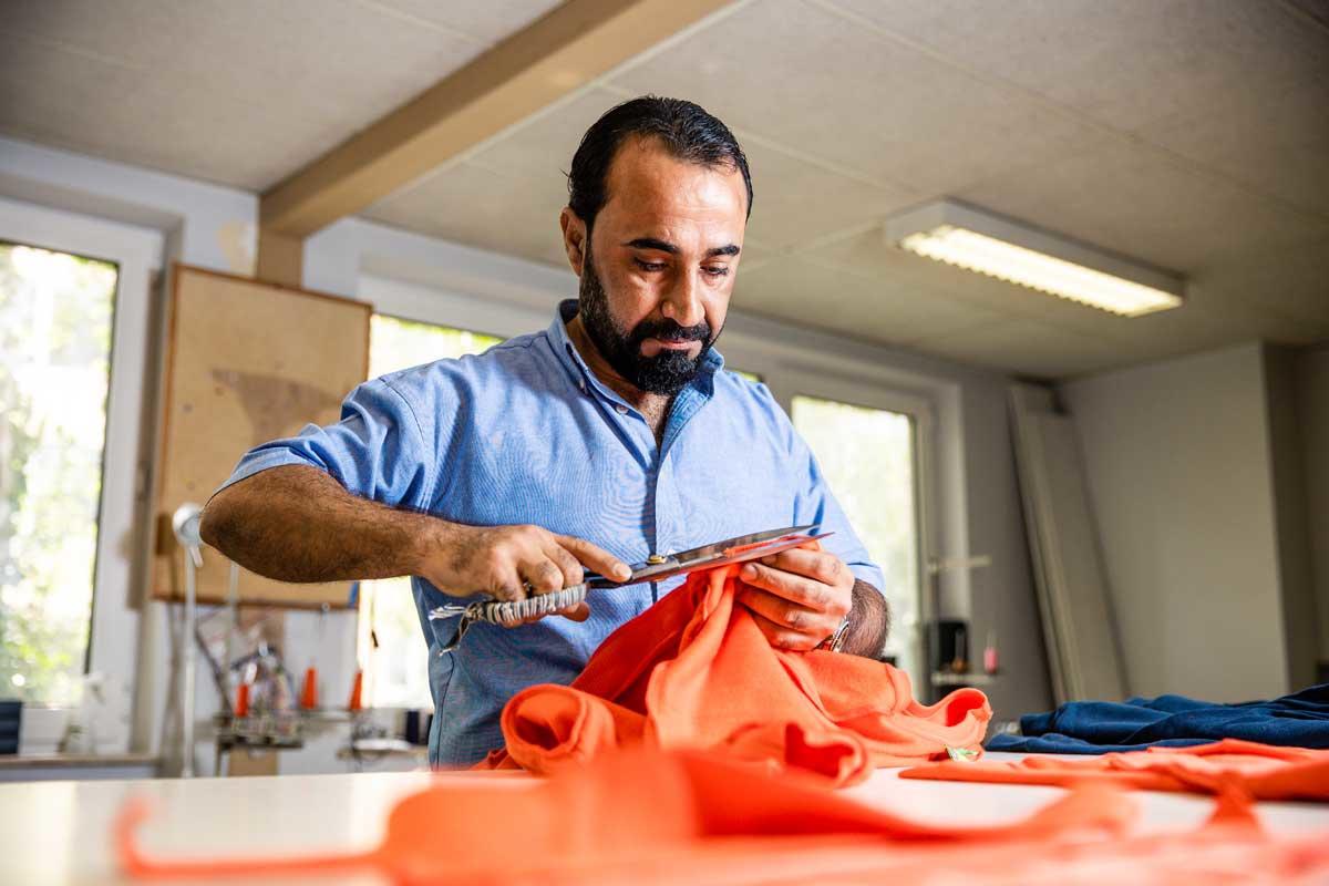 Shawkat Khalil, een Syrische ontwerper, aan de slag bij CiLAB, JBC