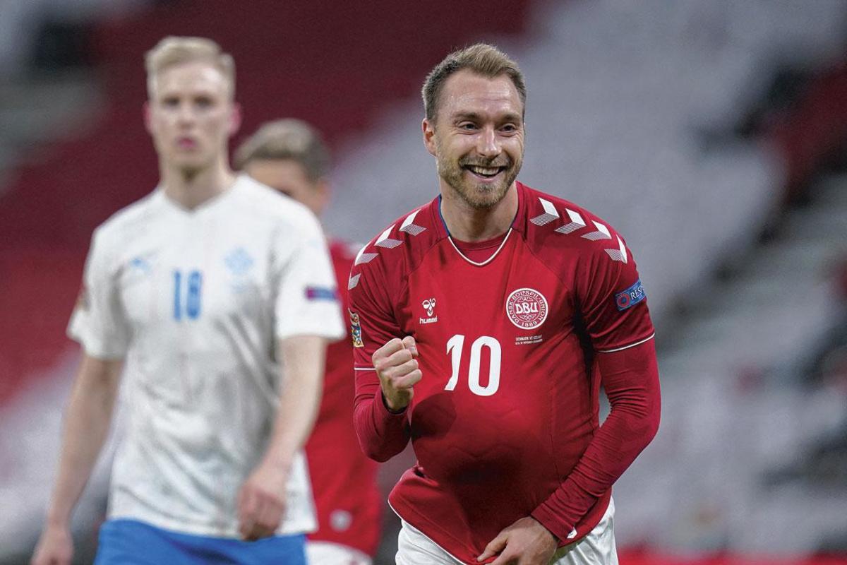 Christian Eriksen is dé grote man bij Denemarken, BELGAIMAGE