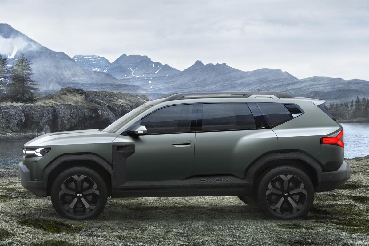 Dacia Bigster Concept moet SUV in C-segment financieel toegankelijker maken voor een breder publiek., /