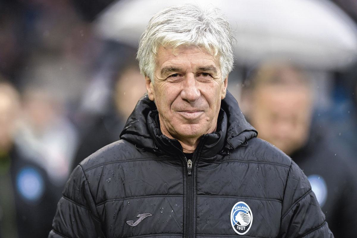 Atalanta-coach Gian Piero Gasperini, BELGAIMAGE