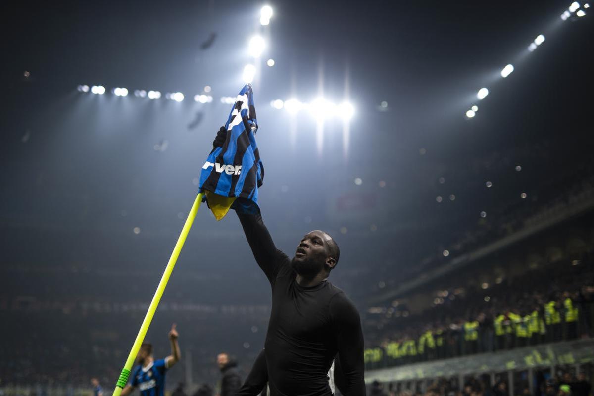 Lukaku is al in zijn eerste seizoen goed op weg om een legende te worden in Milaan., AFP