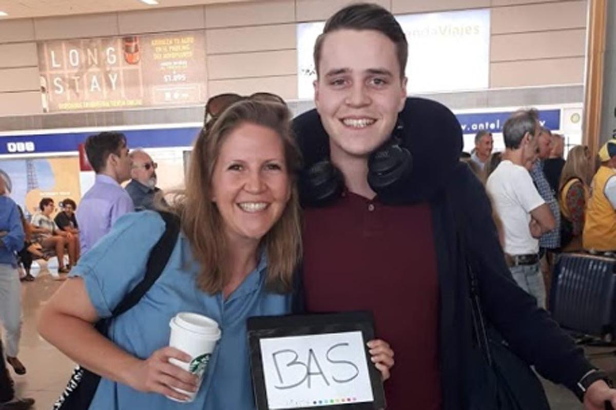 Bas weet nog niet wanneer hij vanuit Uruguay naar België kan vliegen, GF
