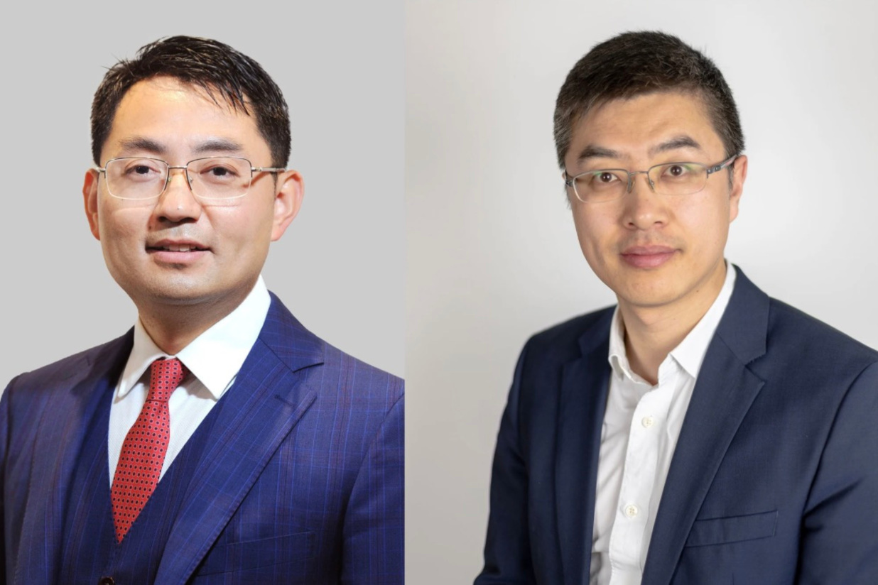Walter Ji, President Of Europe (Huawei Consumer Business Group) et Allen Yao, Country Manager Huawei Belgium & Luxembourg (Consumer Business Group)., Huawei