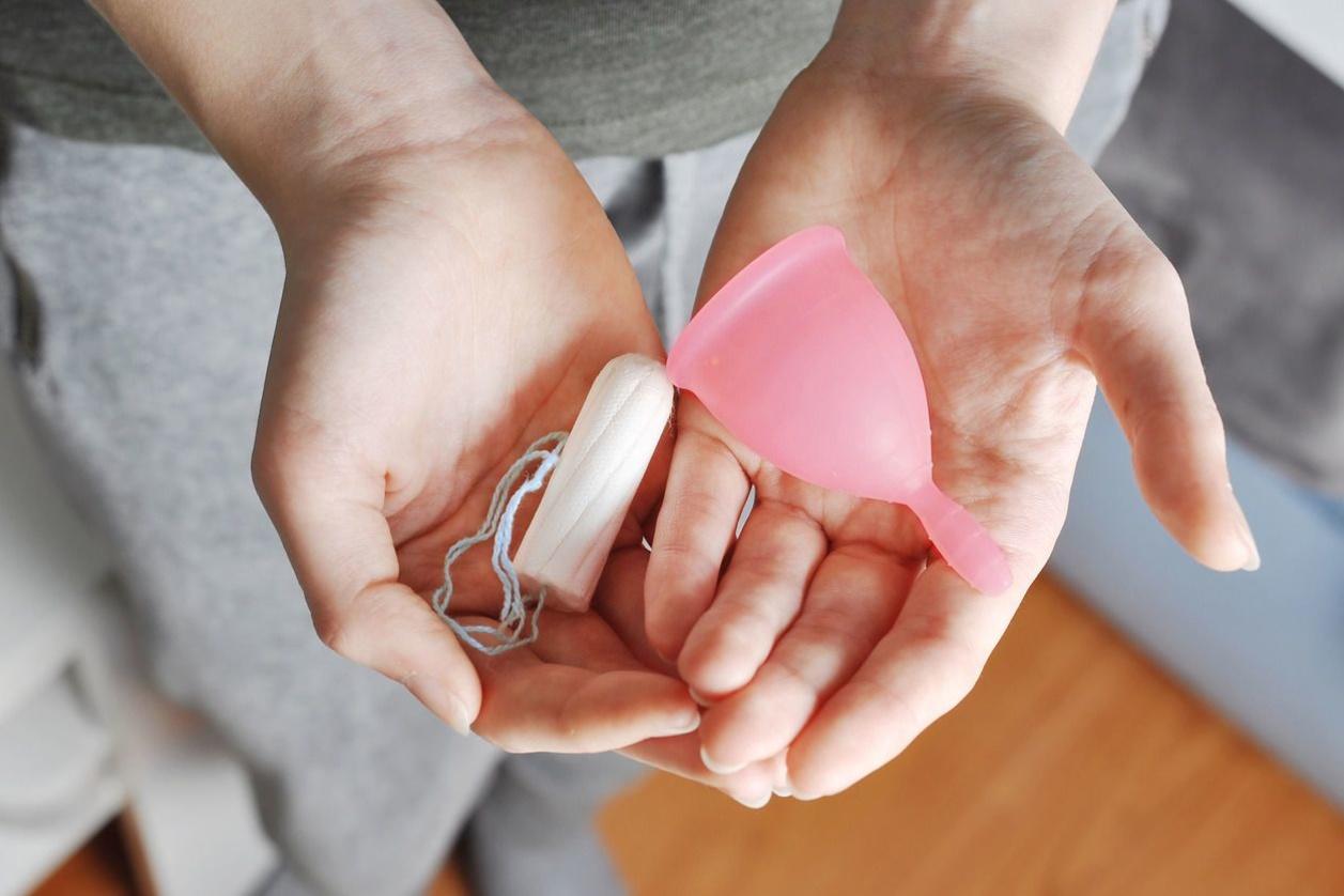 Menstruatiecup, Getty Images/iStockphoto
