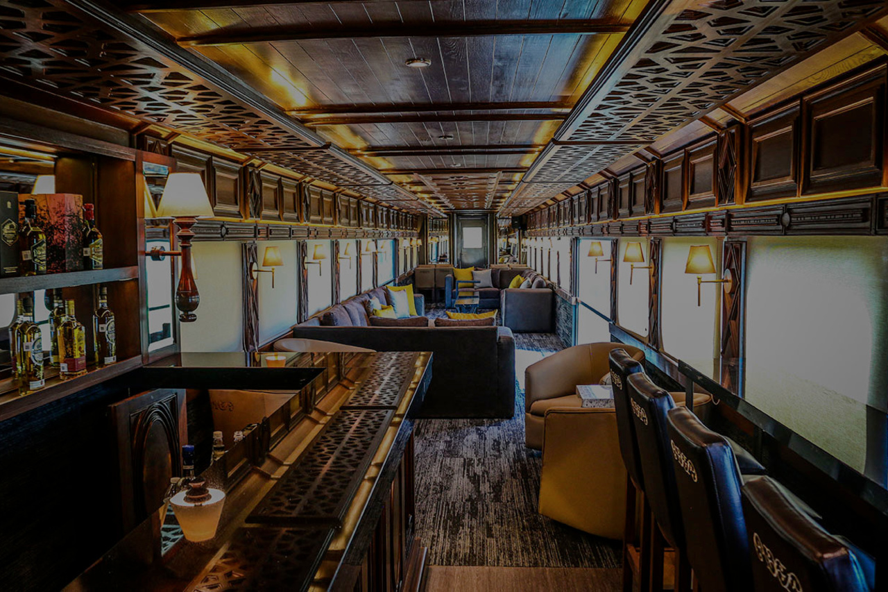 De nieuwe Elite Wagon van de tequilatrein , Jose Cuervo Express