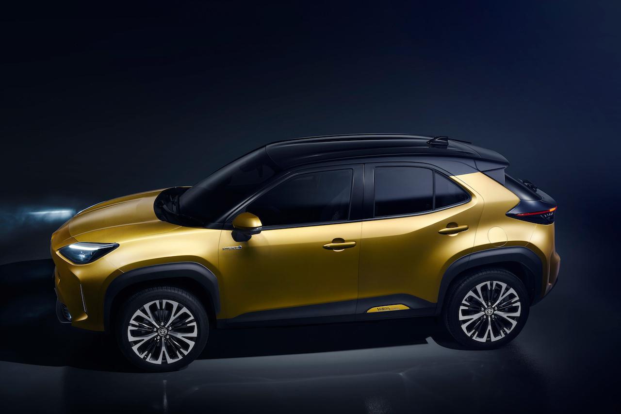 Le SUV compact Yaris Cross deviendra bientôt le second modèle assemblé sur le site du nord de la France., GF