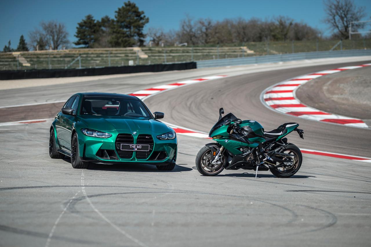 Pour le passionné hard core, cette paire de BMW s'impose... à condition d'aimer le vert., GF