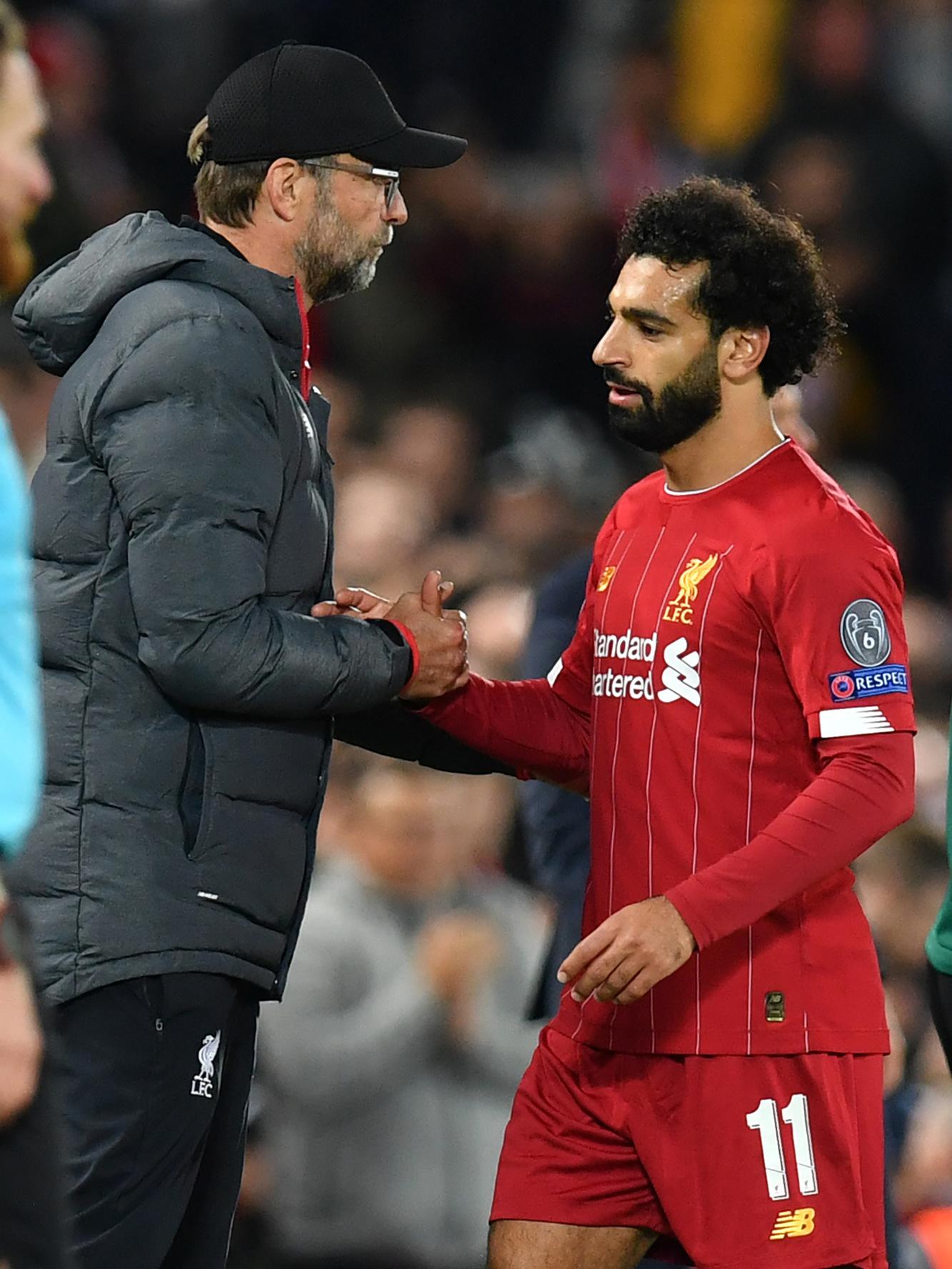 Jürgen Klopp: 'Wij hebben bij Liverpool een gebedsruimte voor Mo Salah en Sadio Mané. En er zijn nog andere islamitische gebruiken die wij respecteren.', Belga Image