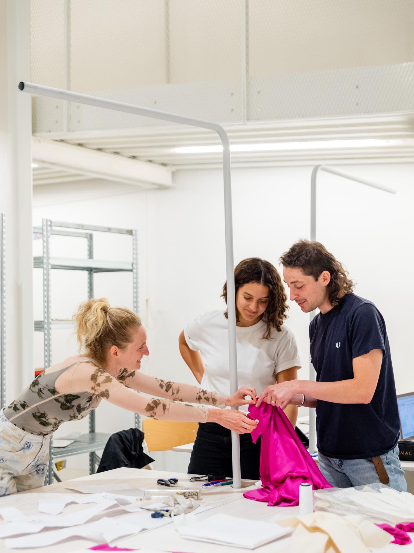Het ontwerpteam aan het werk, Alexandra Bertels