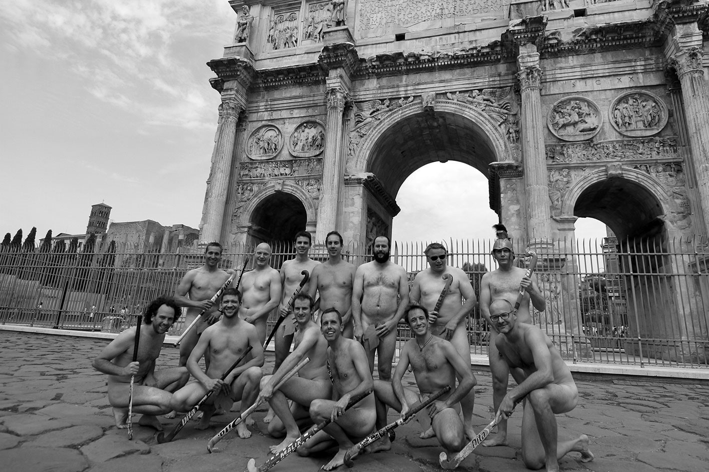 Het Luikse hockeyteam in Rome (2015), Sébastien Bourguignon