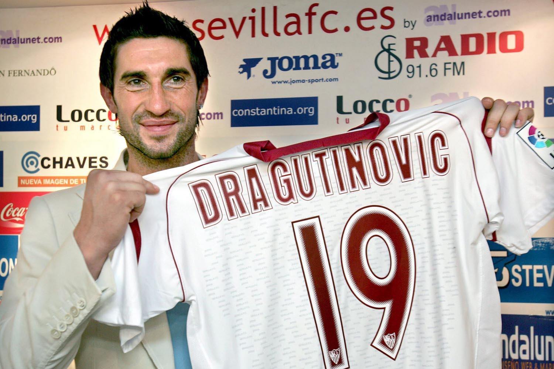 Dragutinovic werd op 1 nacht tijd getransferreerd naar Sevilla., Belga Image