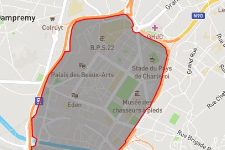 Geofencing bakent de eDrive-zones af., GF