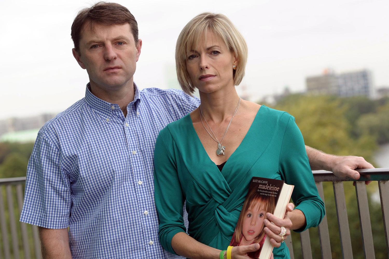 Les parents de Maddie McCann en 2011., Belga