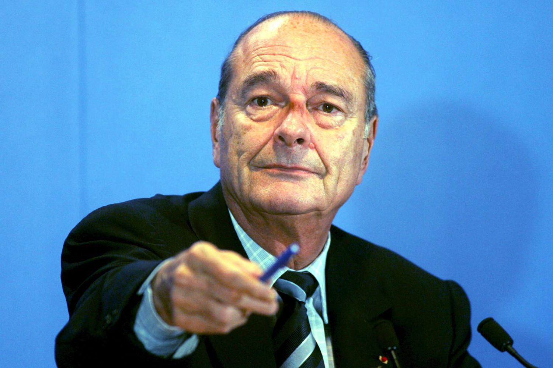 Jacques Chirac en 2005., Belga