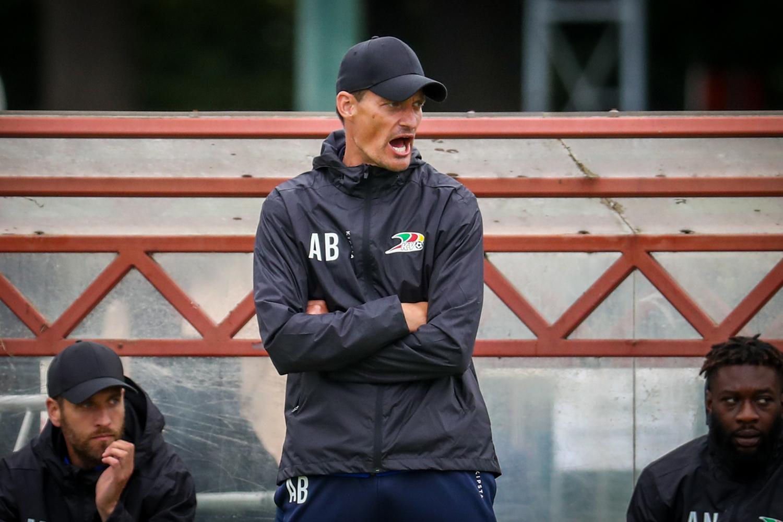 Aleksander Blessin heeft de aartsmoeilijke opdracht om dit KV Oostende naar een rustig seizoen te leiden., Belga Image