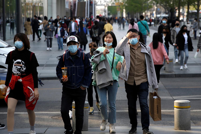 A Pékin ce lundi 6 avril., Reuters